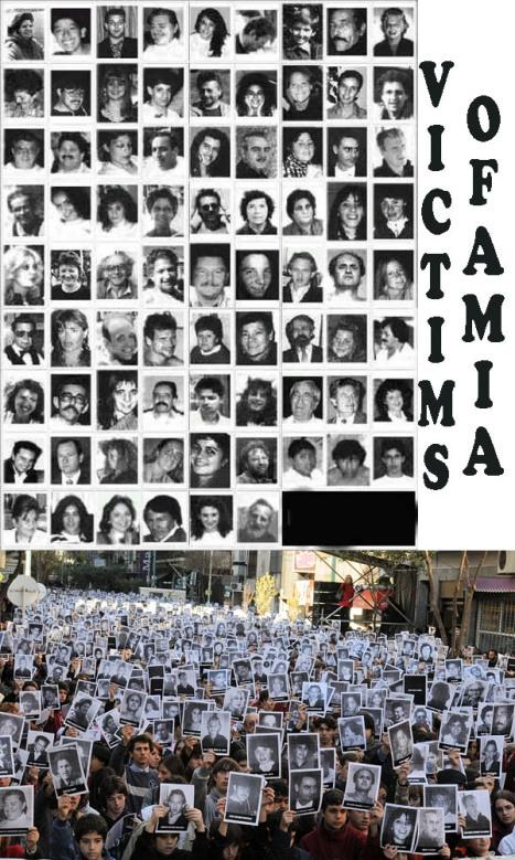 the victims of amia copia