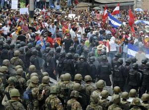 HONDURAS- CRISIS