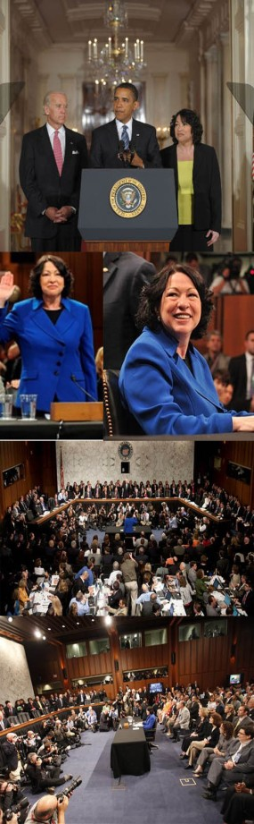 sonia sotomayor confirmated hearing in senate of united states copia