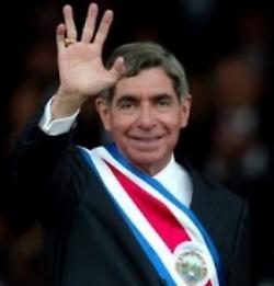 oscararias president of costa rica